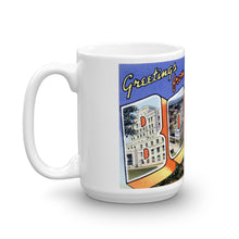 Greetings from Boise Idaho Unique Coffee Mug, Coffee Cup