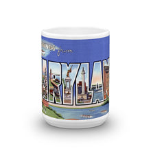 Greetings from Maryland Unique Coffee Mug, Coffee Cup 2