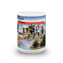Greetings from Maryland Unique Coffee Mug, Coffee Cup 1