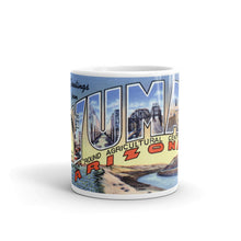 Greetings from Yuma Arizona Unique Coffee Mug, Coffee Cup