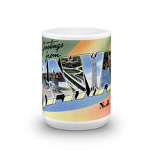 Greetings from Rahway New Jersey Unique Coffee Mug, Coffee Cup