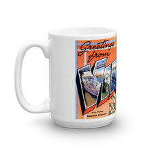 Greetings from Virginia Unique Coffee Mug, Coffee Cup