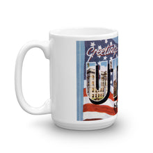 Greetings from Utica New York Unique Coffee Mug, Coffee Cup 2