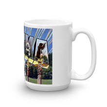 Greetings from Alaska Unique Coffee Mug, Coffee Cup