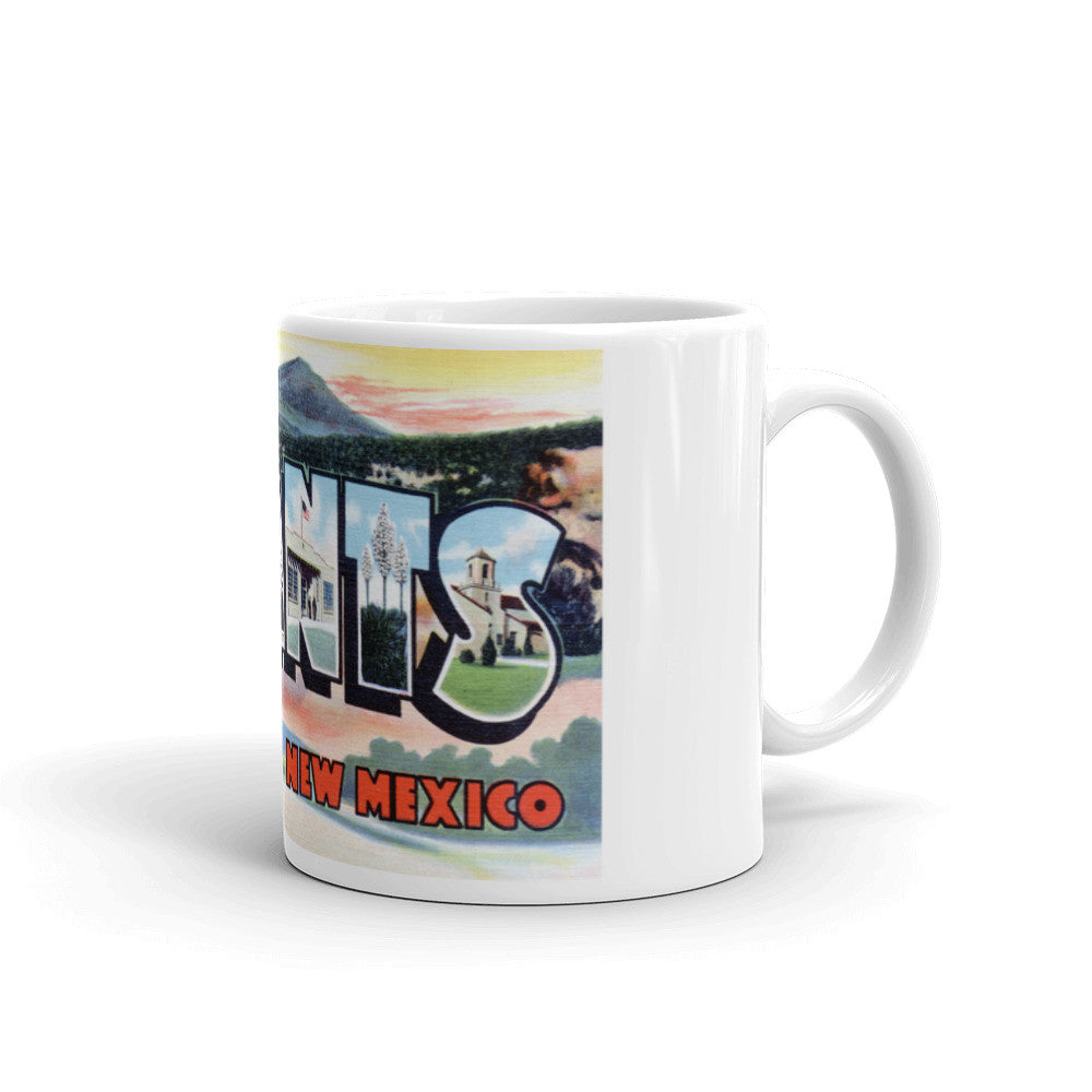 Greetings from Grants New Mexico Unique Coffee Mug, Coffee Cup