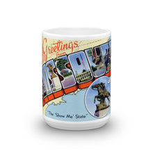 Greetings from Missouri Unique Coffee Mug, Coffee Cup 2