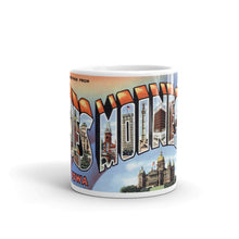 Greetings from Des Moines Iowa Unique Coffee Mug, Coffee Cup 3