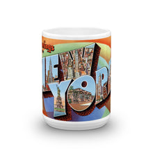 Greetings from New York Unique Coffee Mug, Coffee Cup 2