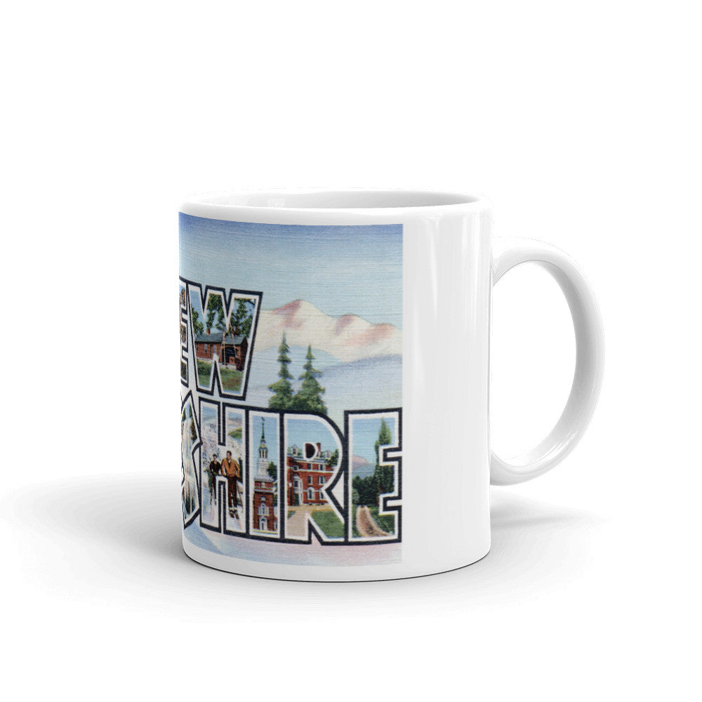 Greetings from New Hampshire Unique Coffee Mug, Coffee Cup 2