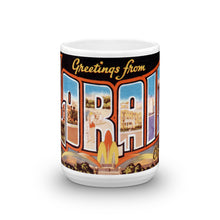 Greetings from Lorain Ohio Unique Coffee Mug, Coffee Cup