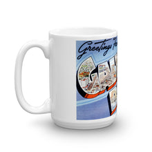 Greetings from Galveston Beach Texas Unique Coffee Mug, Coffee Cup