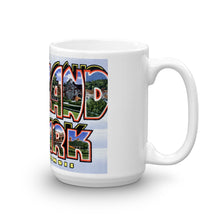 Greetings from Highland Park Illinois Unique Coffee Mug, Coffee Cup