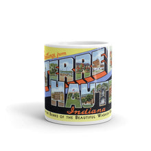 Greetings from Terre Haute Indiana Unique Coffee Mug, Coffee Cup 2