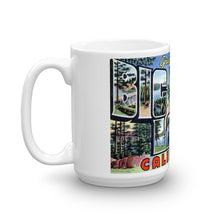 Greetings from Big Bear Lake California Unique Coffee Mug, Coffee Cup