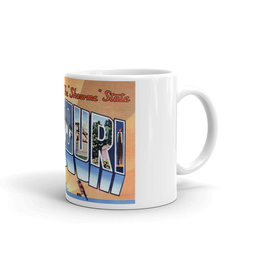 Greetings from Missouri Unique Coffee Mug, Coffee Cup 4