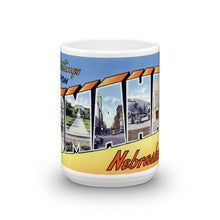 Greetings from Omaha Nebraska Unique Coffee Mug, Coffee Cup 2