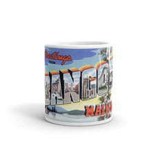 Greetings from Bangor Maine Unique Coffee Mug, Coffee Cup