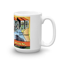 Greetings from Bemidji Minnesota Unique Coffee Mug, Coffee Cup