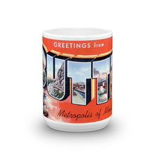 Greetings from Butte Montana Unique Coffee Mug, Coffee Cup