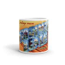 Greetings from Virginia Beach Unique Coffee Mug, Coffee Cup 2
