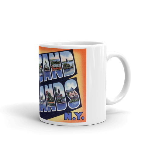 Greetings from Thousand Islands New York Unique Coffee Mug, Coffee Cup