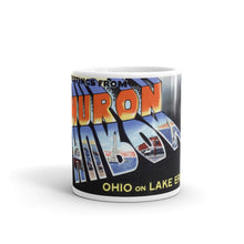 Greetings from Huron Ohio Unique Coffee Mug, Coffee Cup