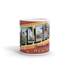 Greetings from Helena Montana Unique Coffee Mug, Coffee Cup