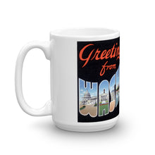 Greetings from Washington DC Unique Coffee Mug, Coffee Cup 2