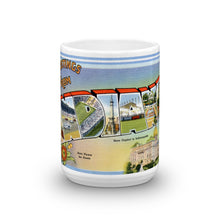 Greetings from Indiana Unique Coffee Mug, Coffee Cup 1