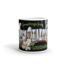 Greetings from New Orleans Louisiana Unique Coffee Mug, Coffee Cup 1