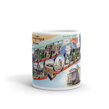 Greetings from North Carolina Unique Coffee Mug, Coffee Cup 2