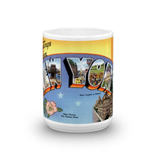 Greetings from New York Unique Coffee Mug, Coffee Cup 1