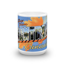 Greetings from Montreal Canada Unique Coffee Mug, Coffee Cup 1