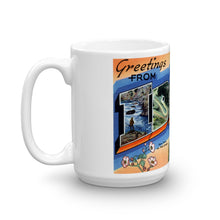 Greetings from Idaho Unique Coffee Mug, Coffee Cup