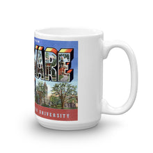 Greetings from Delaware Ohio Unique Coffee Mug, Coffee Cup