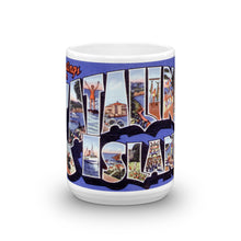 Greetings from Catalina California Unique Coffee Mug, Coffee Cup