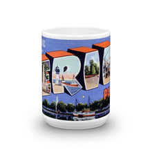 Greetings from Erie Pennsylvania Unique Coffee Mug, Coffee Cup