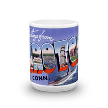 Greetings from Groton Connecticut Unique Coffee Mug, Coffee Cup