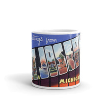 Greetings from St Joseph Michigan Unique Coffee Mug, Coffee Cup