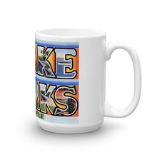 Greetings from Lake of The Ozarks Missouri Unique Coffee Mug, Coffee Cup