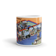 Greetings from West Virginia Unique Coffee Mug, Coffee Cup 1