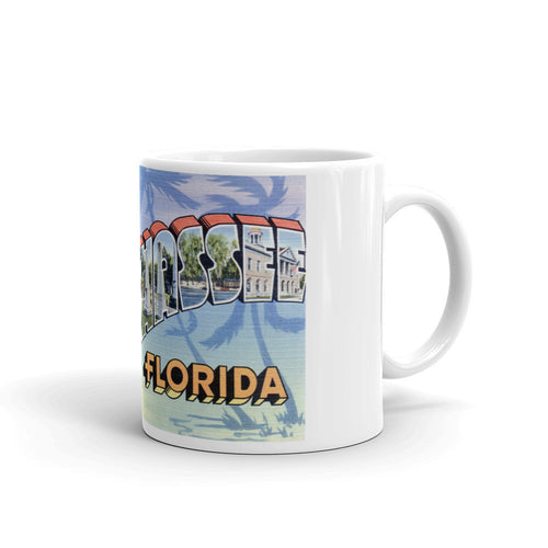 Greetings from Tallahassee Florida Unique Coffee Mug, Coffee Cup 2