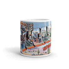 Greetings from Las Vegas Nevada Unique Coffee Mug, Coffee Cup 2