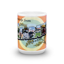 Greetings from Alabama Unique Coffee Mug, Coffee Cup 3