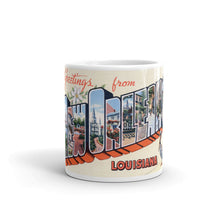 Greetings from New Orleans Louisiana Unique Coffee Mug, Coffee Cup 3