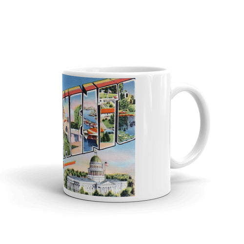 Greetings from Sacramento California Unique Coffee Mug, Coffee Cup 2