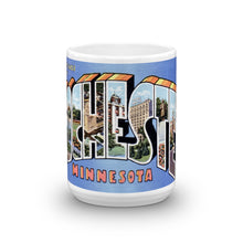 Greetings from Rochester Minnesota Unique Coffee Mug, Coffee Cup 2