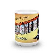 Greetings from Brookfield Illinois Unique Coffee Mug, Coffee Cup