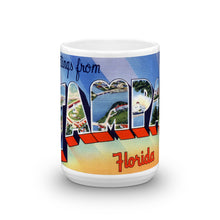 Greetings from Tampa Florida Unique Coffee Mug, Coffee Cup 1