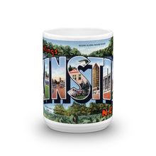 Greetings from Kinston North Carolina Unique Coffee Mug, Coffee Cup